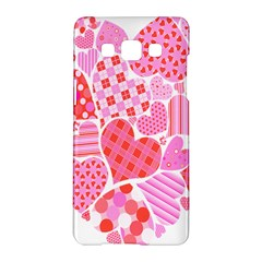 Valentines Day Pink Heart Love Samsung Galaxy A5 Hardshell Case