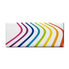 Wave Rainbow Cosmetic Storage Cases by Alisyart