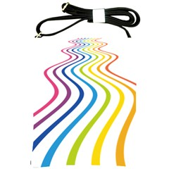 Wave Rainbow Shoulder Sling Bags