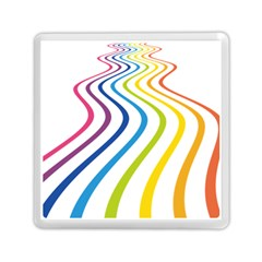 Wave Rainbow Memory Card Reader (square)