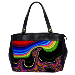 Wave Color Office Handbags