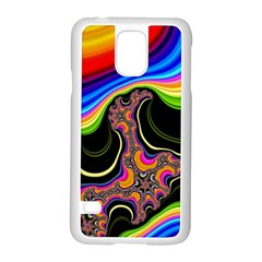 Wave Color Samsung Galaxy S5 Case (white)