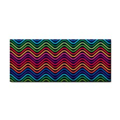 Wave Chevron Rainbow Color Cosmetic Storage Cases by Alisyart