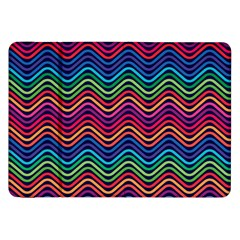 Wave Chevron Rainbow Color Samsung Galaxy Tab 8 9  P7300 Flip Case by Alisyart
