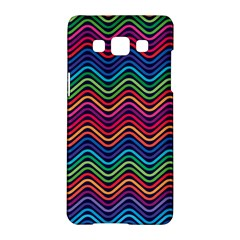 Wave Chevron Rainbow Color Samsung Galaxy A5 Hardshell Case