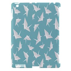 Origamim Paper Bird Blue Fly Apple Ipad 3/4 Hardshell Case (compatible With Smart Cover) by Alisyart