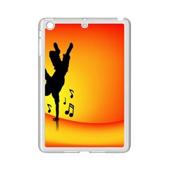 Breakdancer Dancing Orange Ipad Mini 2 Enamel Coated Cases