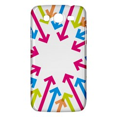 Arrows Pink Blue Orange Green Samsung Galaxy Mega 5 8 I9152 Hardshell Case  by Alisyart