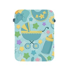 Baby Stroller Star Blue Apple Ipad 2/3/4 Protective Soft Cases