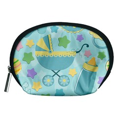 Baby Stroller Star Blue Accessory Pouches (medium)