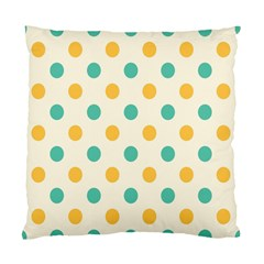 Circle Blue Orange Standard Cushion Case (one Side) by Alisyart