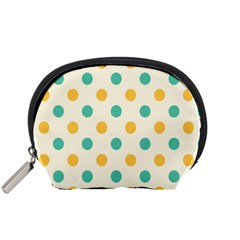 Circle Blue Orange Accessory Pouches (small)