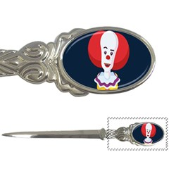 Clown Face Red Yellow Feat Mask Kids Letter Openers