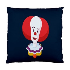 Clown Face Red Yellow Feat Mask Kids Standard Cushion Case (one Side)