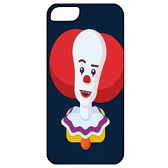 Clown Face Red Yellow Feat Mask Kids Apple Iphone 5 Classic Hardshell Case by Alisyart