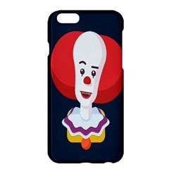 Clown Face Red Yellow Feat Mask Kids Apple Iphone 6 Plus/6s Plus Hardshell Case by Alisyart