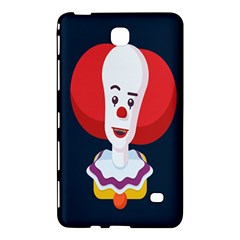 Clown Face Red Yellow Feat Mask Kids Samsung Galaxy Tab 4 (8 ) Hardshell Case  by Alisyart