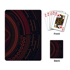 Creative Direction Illustration Graphic Gold Red Purple Circle Star Playing Card by Alisyart