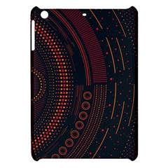 Creative Direction Illustration Graphic Gold Red Purple Circle Star Apple Ipad Mini Hardshell Case