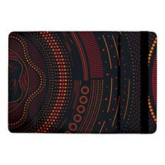 Creative Direction Illustration Graphic Gold Red Purple Circle Star Samsung Galaxy Tab Pro 10 1  Flip Case by Alisyart