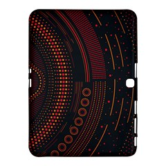 Creative Direction Illustration Graphic Gold Red Purple Circle Star Samsung Galaxy Tab 4 (10 1 ) Hardshell Case  by Alisyart