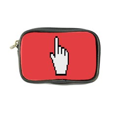 Cursor Index Finger White Red Coin Purse