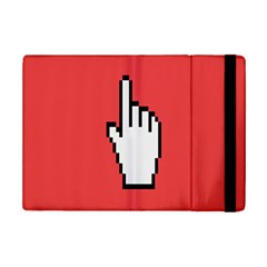 Cursor Index Finger White Red Ipad Mini 2 Flip Cases by Alisyart