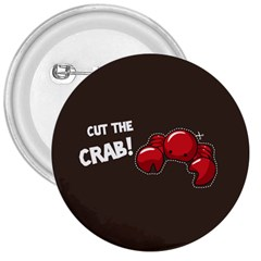 Cutthe Crab Red Brown Animals Beach Sea 3  Buttons by Alisyart