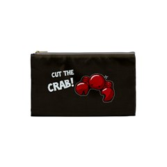 Cutthe Crab Red Brown Animals Beach Sea Cosmetic Bag (small)  by Alisyart