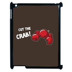 Cutthe Crab Red Brown Animals Beach Sea Apple Ipad 2 Case (black) by Alisyart