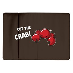 Cutthe Crab Red Brown Animals Beach Sea Samsung Galaxy Tab 10 1  P7500 Flip Case
