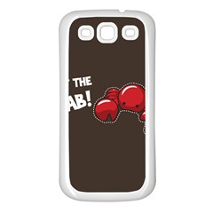 Cutthe Crab Red Brown Animals Beach Sea Samsung Galaxy S3 Back Case (white)