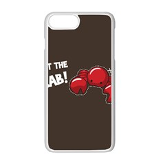 Cutthe Crab Red Brown Animals Beach Sea Apple Iphone 7 Plus White Seamless Case