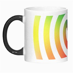 Circle Purple Blue Red Green Yellow Morph Mugs
