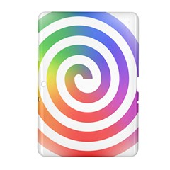 Circle Purple Blue Red Green Yellow Samsung Galaxy Tab 2 (10 1 ) P5100 Hardshell Case  by Alisyart