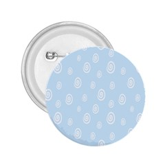 Circle Blue White 2 25  Buttons