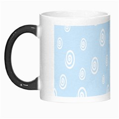 Circle Blue White Morph Mugs