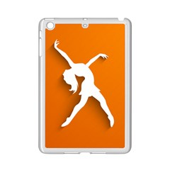 Dance Dancing Orange Girl Ipad Mini 2 Enamel Coated Cases