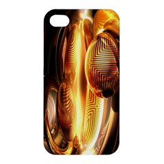Digital Art Gold Apple Iphone 4/4s Hardshell Case
