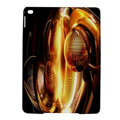 Digital Art Gold Ipad Air 2 Hardshell Cases by Alisyart