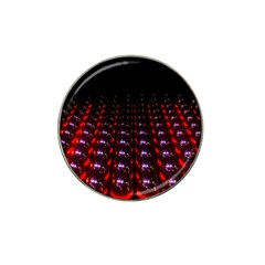 Digital Balls Lights Purple Red Hat Clip Ball Marker