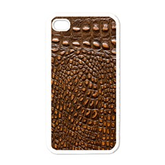 Crocodile Skin Apple Iphone 4 Case (white)