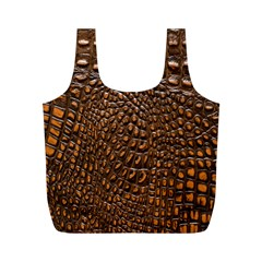 Crocodile Skin Full Print Recycle Bags (m)