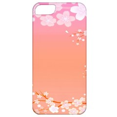 Flower Season Pink Purple Red Apple Iphone 5 Classic Hardshell Case