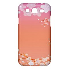 Flower Season Pink Purple Red Samsung Galaxy Mega 5 8 I9152 Hardshell Case  by Alisyart