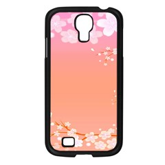 Flower Season Pink Purple Red Samsung Galaxy S4 I9500/ I9505 Case (black) by Alisyart