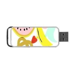 Fruit Watermelon Strawberry Banana Orange Shoes Lime Portable Usb Flash (two Sides) by Alisyart