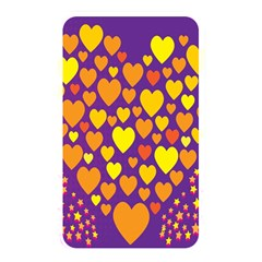 Heart Love Valentine Purple Orange Yellow Star Memory Card Reader by Alisyart