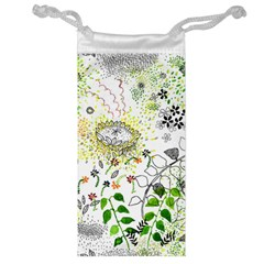 Flower Flowar Sunflower Rose Leaf Green Yellow Picture Jewelry Bag