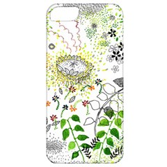 Flower Flowar Sunflower Rose Leaf Green Yellow Picture Apple Iphone 5 Classic Hardshell Case